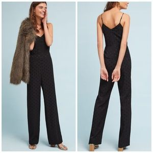 NEW Anthropologie The Essential Polka Dot Jumpsuit